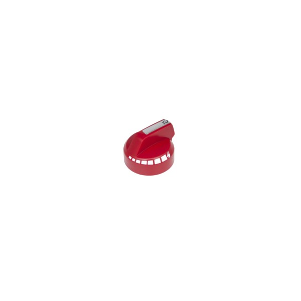 Regulierknopf rot